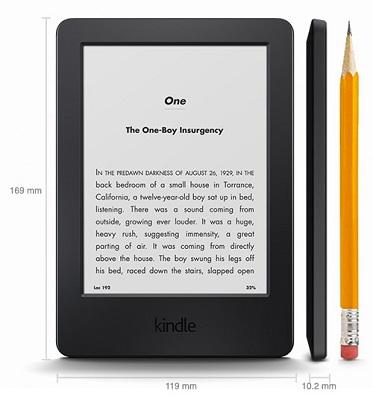 The Kindle eReader. (Image: Amazon).