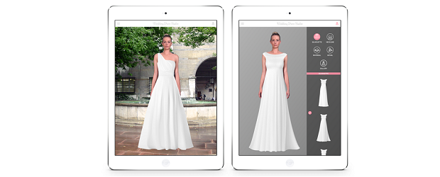 Toronto startup helps brides find the perfect dress by for Virtual try on wedding dress