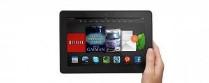 The Kindle Fire HDX 8.9. (Image: Amazon).