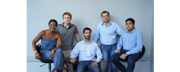 The team at Crowdlinker, minus one employee. (Image: Crowdlinker).