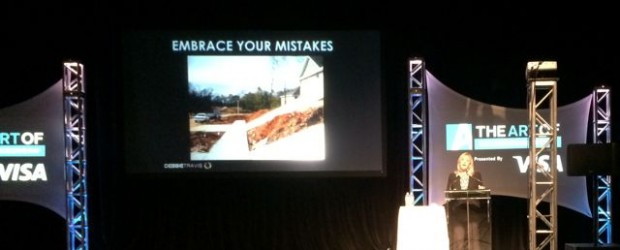 "Debbie Travis' advice ""Embrace your mistakes"""