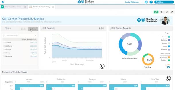 Salesforce Wave - dashboard