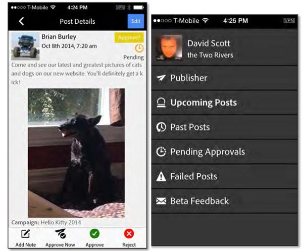 Adobe-Social-app