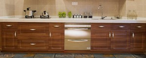 A recently renovated kitchen.