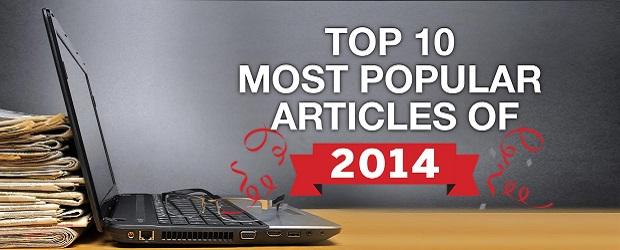 top 10 articles 2014