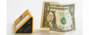 Pono Music Player compared to a dollar bill
