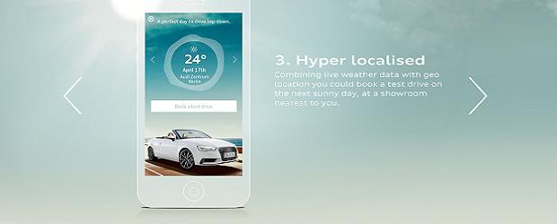 Audi app
