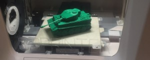 Tank made with da Vinci 3D printer.