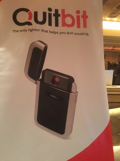 QuitBit lighter at CES