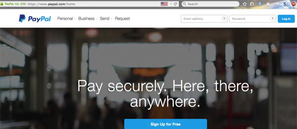 PayPal-Real-site