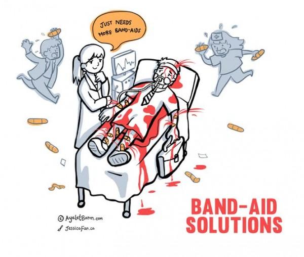 Bandaid solutions