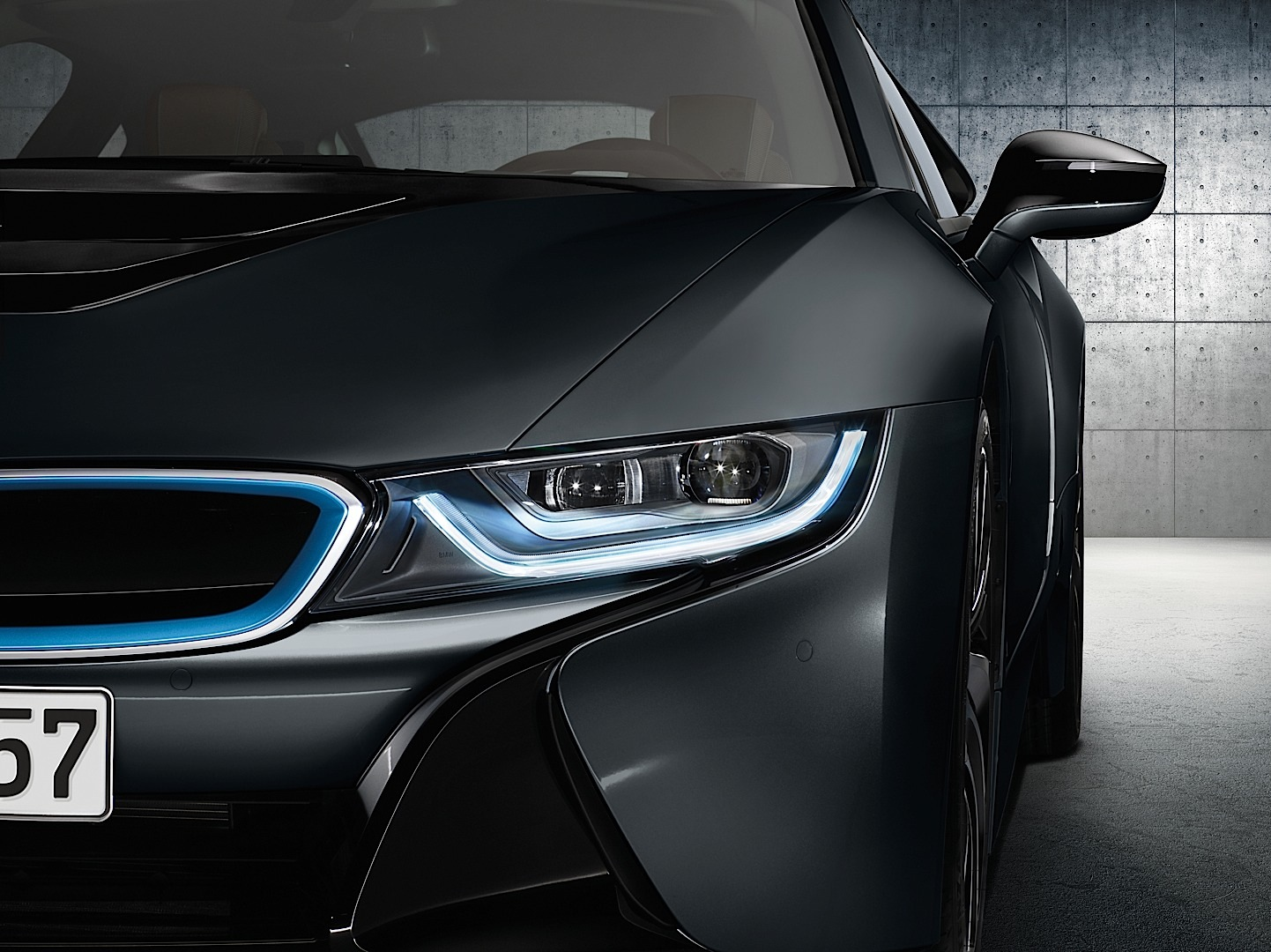 and car picture headlights turned photo stock sports bmw