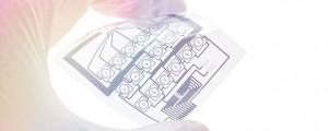 Printable electronics circuit