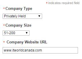 LinkedIn company page back link