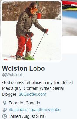 Twitter profile links
