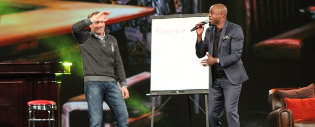 Wayne Brady hosting Adobe Sneaks