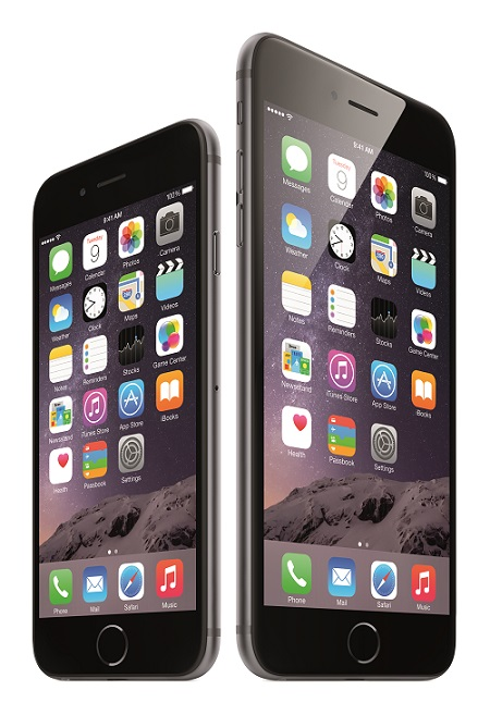 Apple's iPhone 6 and iPhone 6+