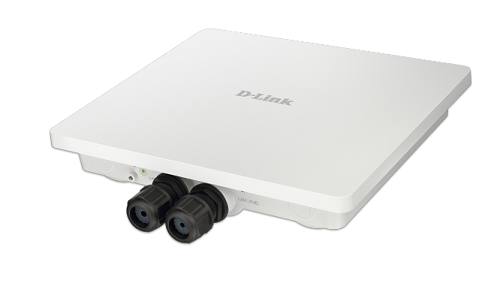 D-Link's Wireless AC1200 Concurrent Dual Band Outdoor Access Point with PoE (DAP-3662).