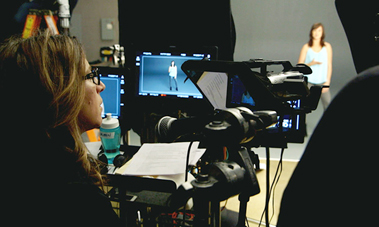 Director Lauren Greenfield was called upon to play a leading role for the #LikeAGirl video.