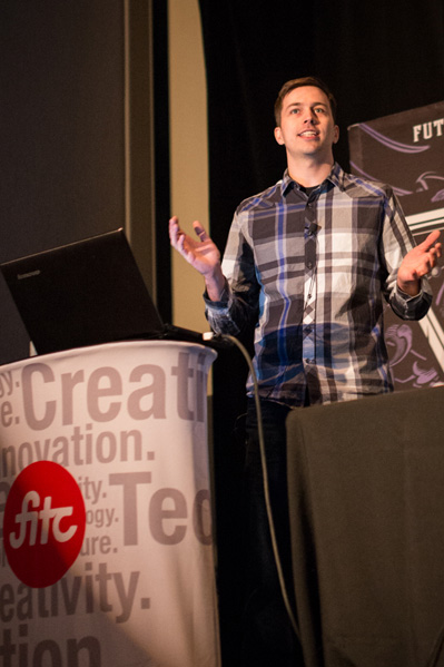 Matt Fisher, a video playback engineer at Twitch, explains how the service can live stream to millions of viewers a month at FITC Toronto.