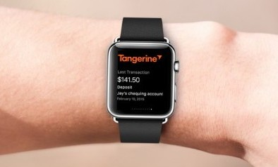 Tangerine-Bank-Apple-Watch