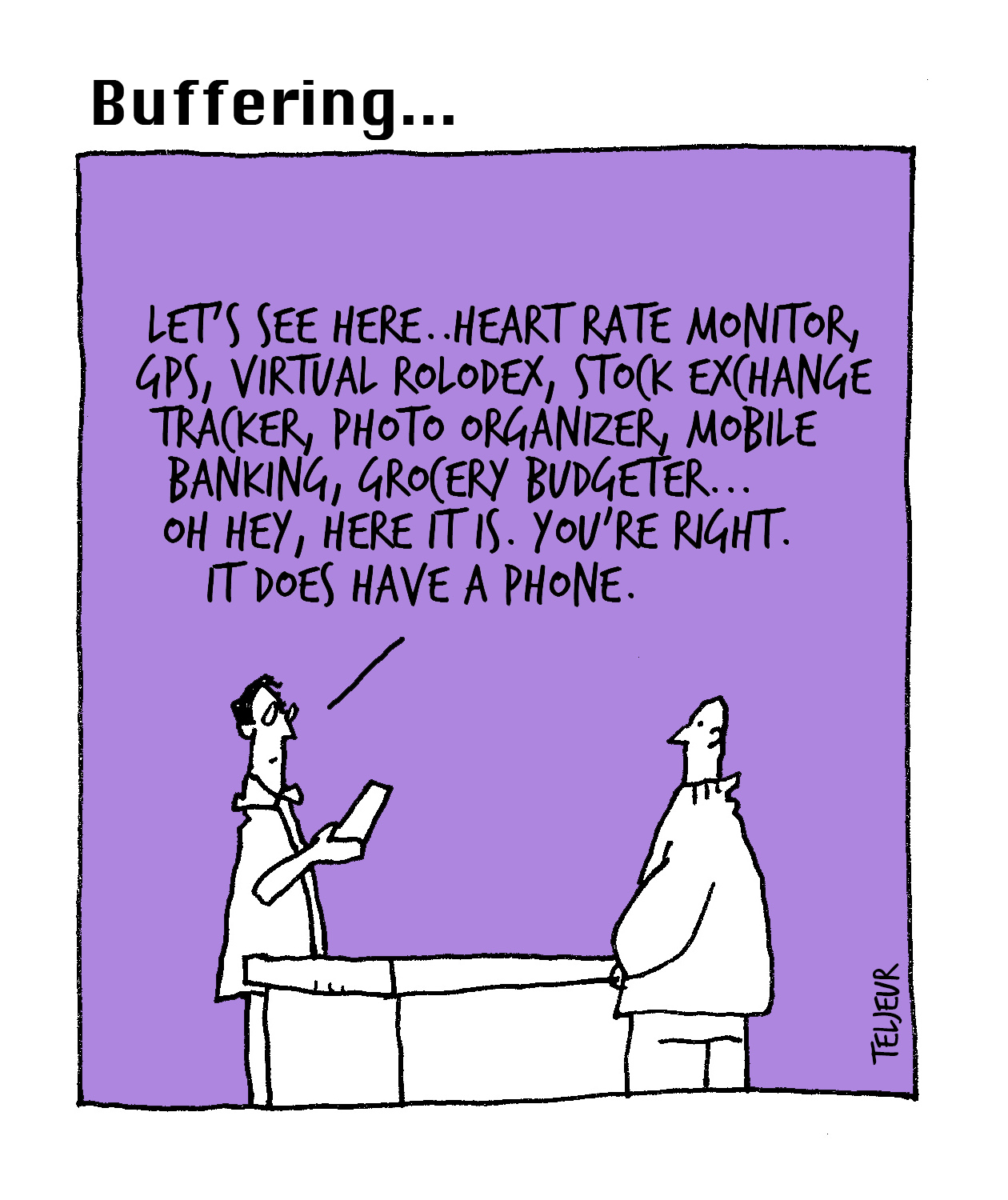 Buffing - smartphone features