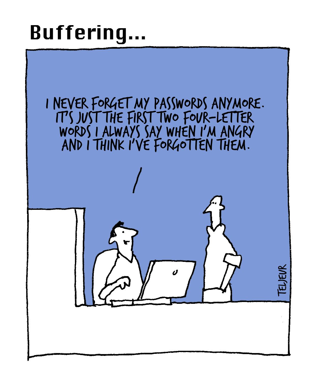 Buffering-passwords