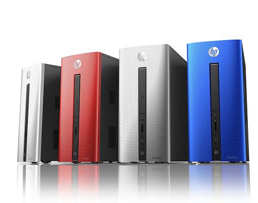 HP Pavilion Desktops_4 New Colors