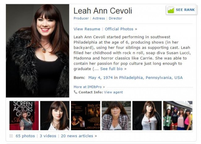 Leah Ann Cevoli