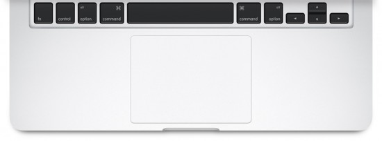 MacBook Pro Force Touch track pad