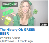Nicole Arbour's 'History of Green Beer' thumbnail image
