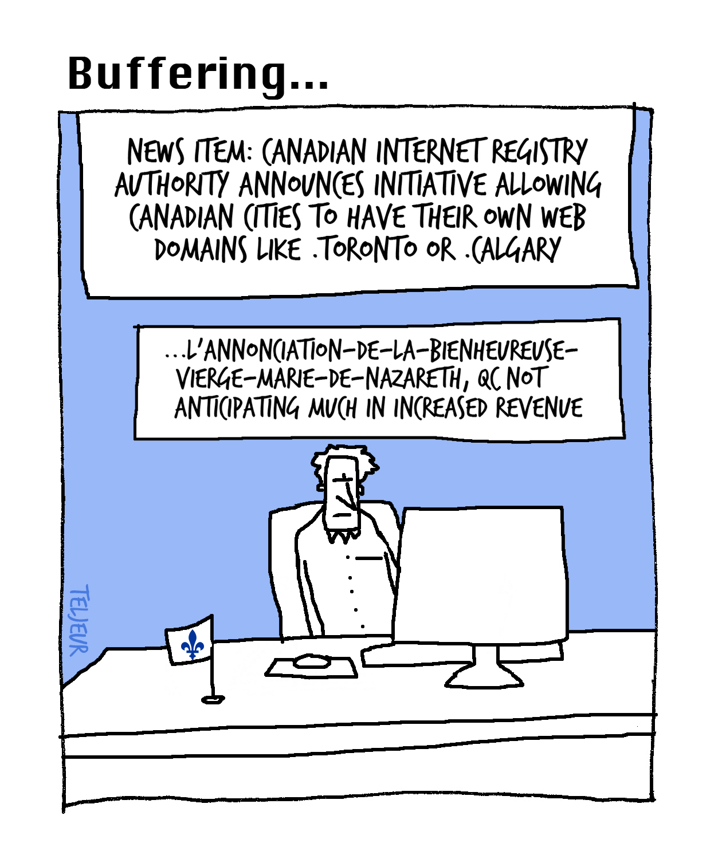 Buffering - CIRA city domains