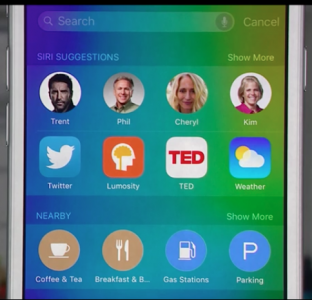 iOS 9 - suggestions