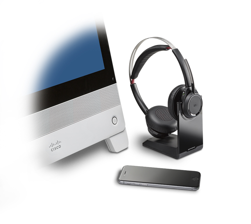 Voyager Focus UC with Cisco DX80