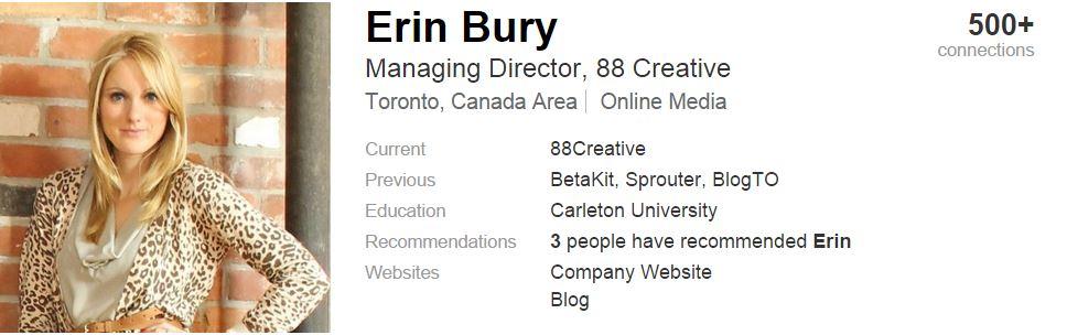 Erin Bury Linkedin