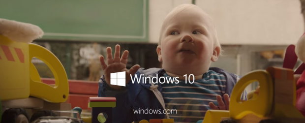 microsoft baby commercial
