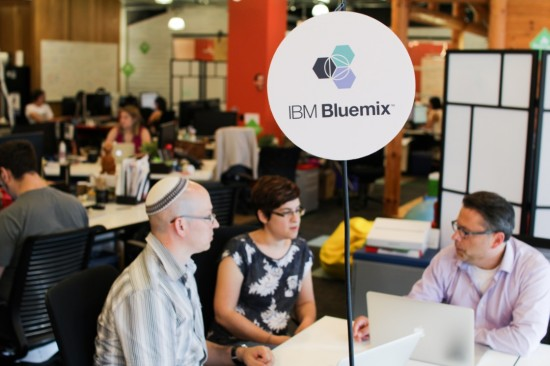 Developers and product designers will work with IBM experts in Ryerson's DMZ.
