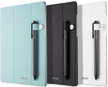 The Asus ZenPad accessories include a foldable cover that doubles as a stand, and a stylus with  a fine tip.