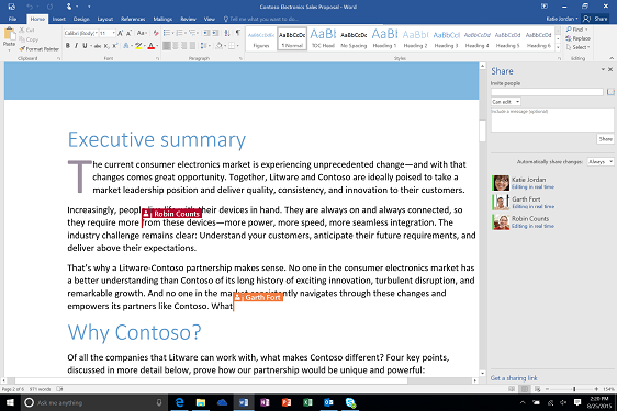 7 cool new features in Microsoft Office 2016 | IT Business