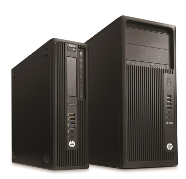 HP Z240 SFF Workstation and HP Z240 Tower Workstation