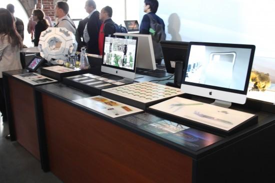 Autodesk office iMacs