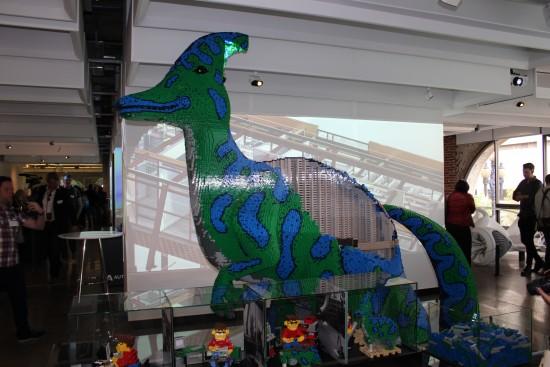 Autodesk - Lego dinosaur