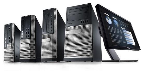 how to find dell desktop model number