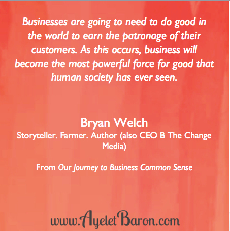 Business as a force of good