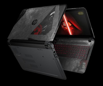 HP dark side notebook