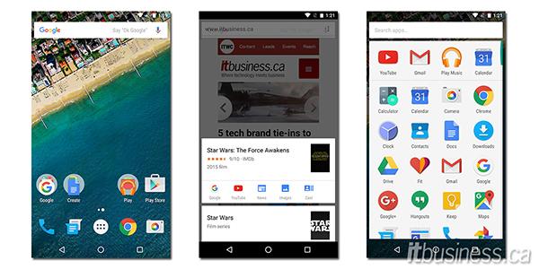 LG Nexus 5X Screenshots