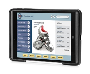 HP Pro Tablet Mobile Retail Solution_right facing