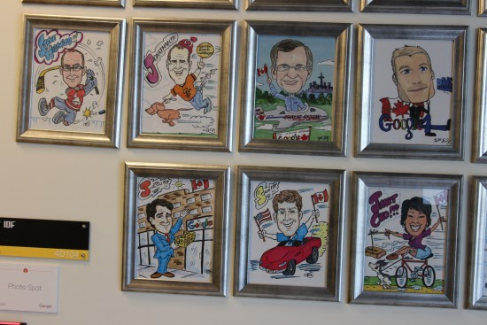 Google caricatures