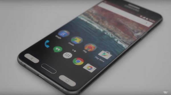 Samsung Galaxy S7 concept. Credit: Martin Hajek