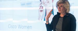 Willa Black, Cisco Canada VP of Corporate Affairs and CSR.